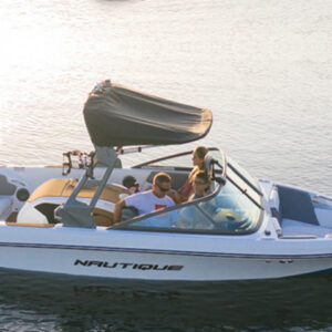 Boat rental with License in villefranche sur mer Boat Correct Craft 200